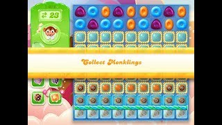 Candy Crush Jelly Saga Level 1076 (3 stars, No boosters)