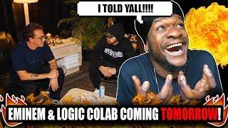 "Eminem & Logic Announce Colab ""Homicide"" (Prediction)"