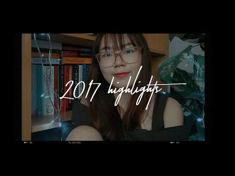 Highlights of 2017 : Favorite books, unforgettable moments | Dazzling Books | Booktube Indonesia