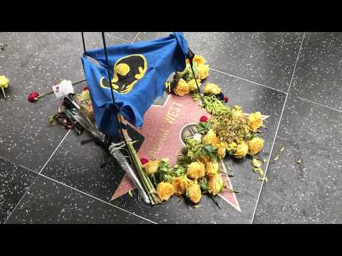 Fans Pay Tribute To Batman's Adam West At His Star On The Hollywood Walk Of Fame