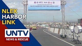 DPWH, binuksan na ang Malabon exit ng NLEX Harbor Link