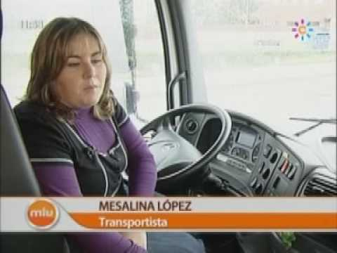 Mesalina, conductora de camiones Actualidad Mira la vida