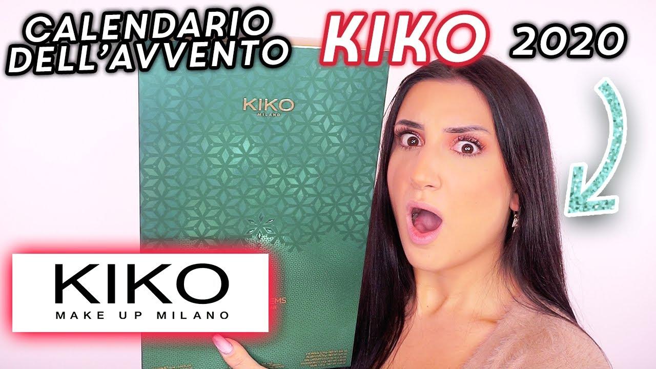 CALENDARIO DELL'AVVENTO KIKO 2020 🎁