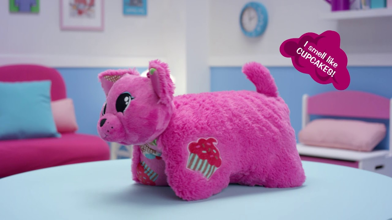 pillow pets candy floss scented