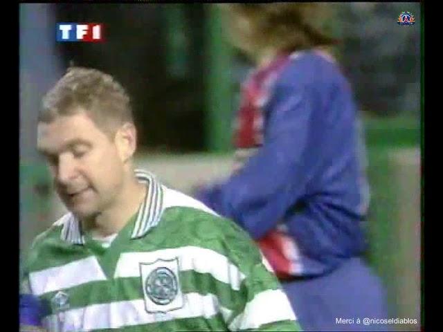 Celtic Glasgow – PSG - 02/11/95 - Coupe des Coupes 95-96