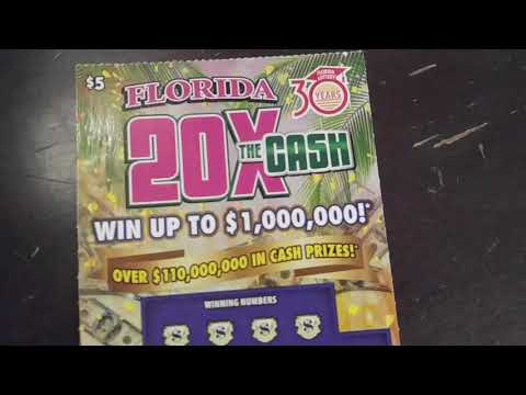 Lotto Scratch Off - Florida - Day 4 - $1,000,000 Top Prize - 100 $1 tickets scratched - Plus more