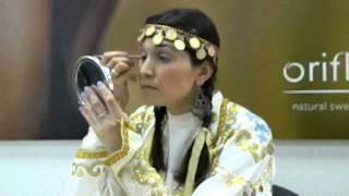 Башкирский этнический макияж