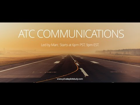 ATC Communications And Radio Procedures