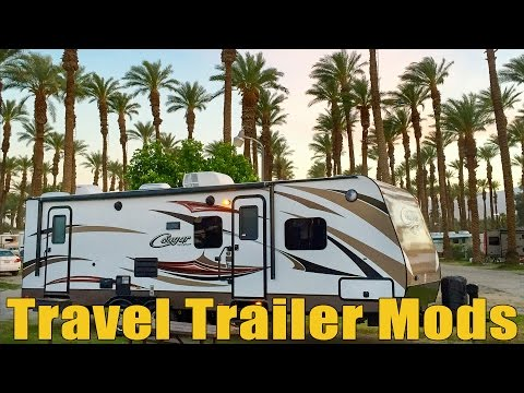 Travel Trailer Mods for Full Time RV Life