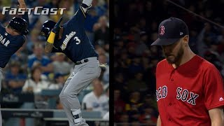 MLB.com FastCast: Brewers take 2-1 NLCS lead: 10/15/18