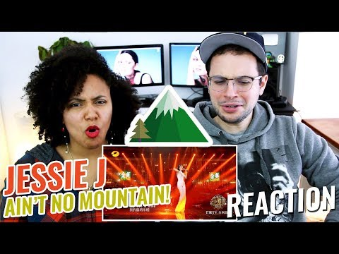 Jessie J - Ain't No Mountain High Enough | Episode 10 | Singer 2018 | REACTION