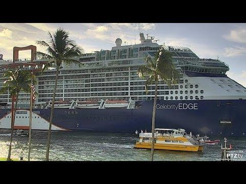 CELEBRITY EDGE Arrival into Port Everglades on 11/19/2018