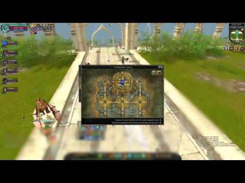 Silkroad Online Server Minerva Fortress War 4/22/2017 HM Fuked up