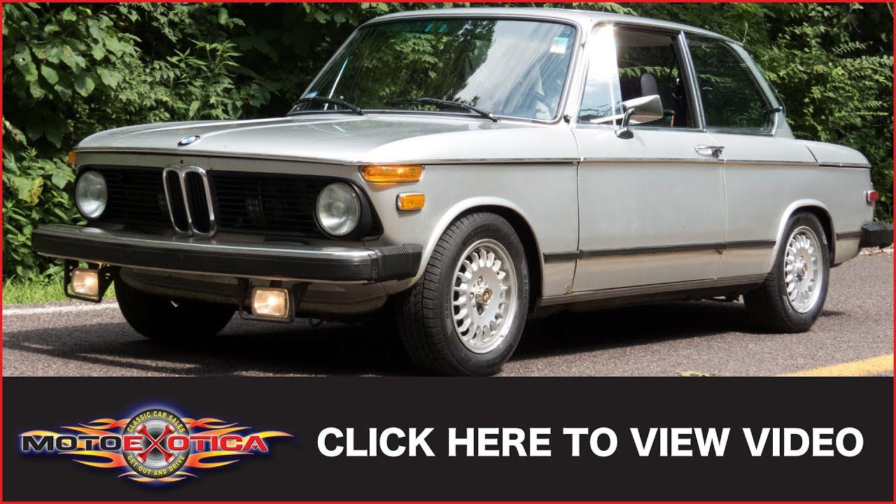 Bmw 1974 2002 Auto Wire Diagram Layout Wiring Diagrams Tii 2002tii Sold Youtube Rh Com Orange 1977