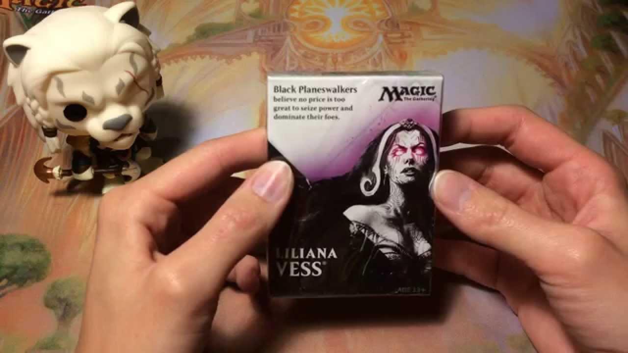 Magic 2015 New Player Sample Deck- Black - YouTube