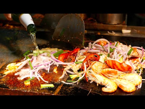 Chinese Street Food - Mixed Seafood Pot