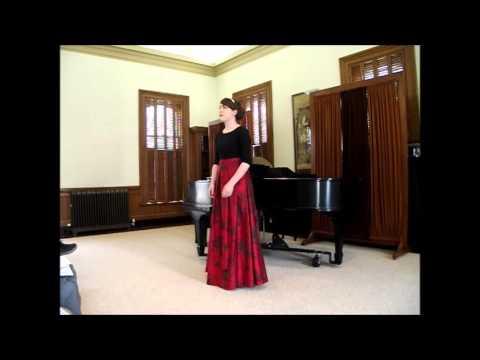 Emily Bergmann Senior Voice Recital, Wheaton College