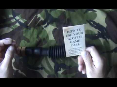 decoy shooting hunting Scotch Shaker Predator Call
