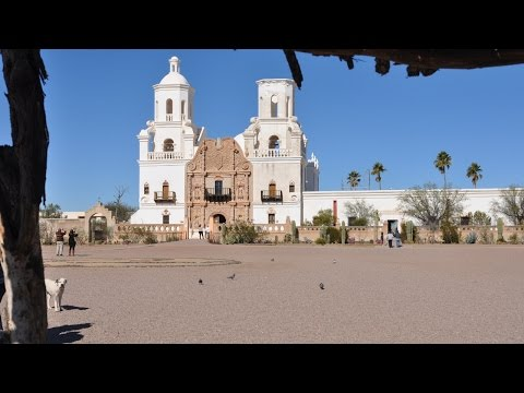 Arizona - Visit to the Mission of San Xavier [Jan. 12, 2016]