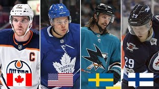 CAN YOU GUESS WHAT COUNTRY THESE NHL PLAYERS ARE FROM?