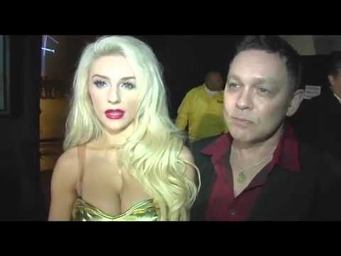 Courtney Stodden defends Lindsay Lohan's 'Liz and Dick' performance