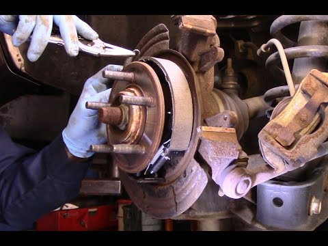 How to replace the parking brake shoes 2002-2010 Ford