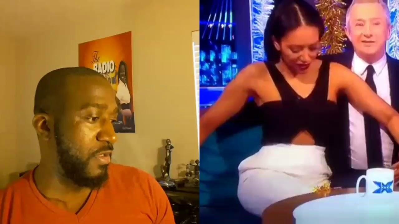 Ass Grope louis walsh grabs mel b butt on television