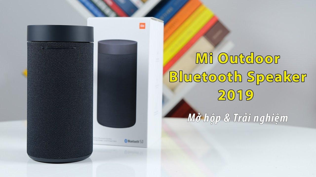 Loa bluetooth giá rẻ Xiaomi Mi Outdoor Bluetooth Speaker 2019: Mở hộp và trải nghiệm