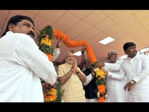 PM Modi in Dantewada, Chhattisgarh