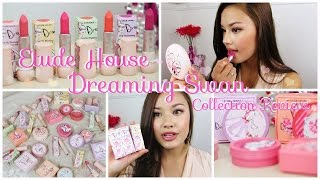 First Impressions ♥ Entire Etude House Dreaming Swan Collection Review