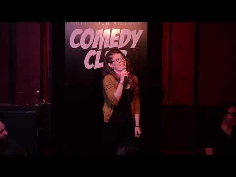 Mandy Jones at the Greenwich Village Comedy Club