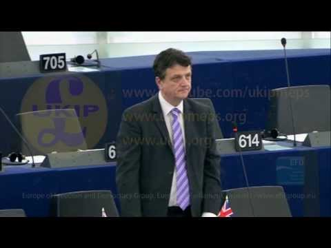 """There is no such thing as """"EU money"""", there is only taxpayers money - UKIP MEP Gerard Batten"""