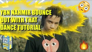 YBN NAHMIR DANCE TUTORIAL (FT REVERSE.MUST WATCH)