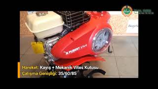 Pubert Vario 55H C3 Honda Motorlu Çapa Makinası
