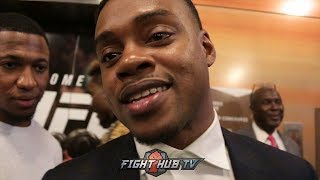 "ERROL SPENCE TO GOLOVKIN ""YOU SAID MEXICAN STYLE & YOU BACKED UP THE WHOLE FIGHT!"""