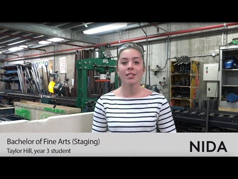 NIDA's Bachelor of Fine Arts (Staging) – Taylor's Third Year Masterwork
