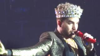 Queen + Adam Lambert - We Will Rock You & We Are The Champions @ Brussels, 15.06.2016