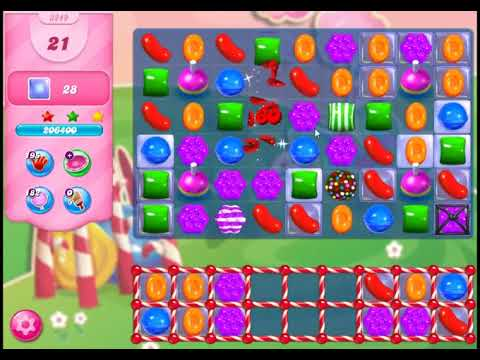 Candy Crush Saga Level 3249 - NO BOOSTERS