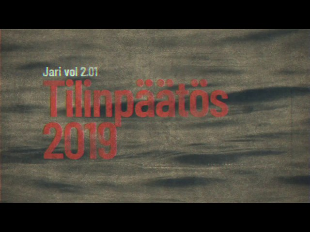Jari vol 2.01 - Outokummun kaupungin tilinpäätös vuodelta 2019