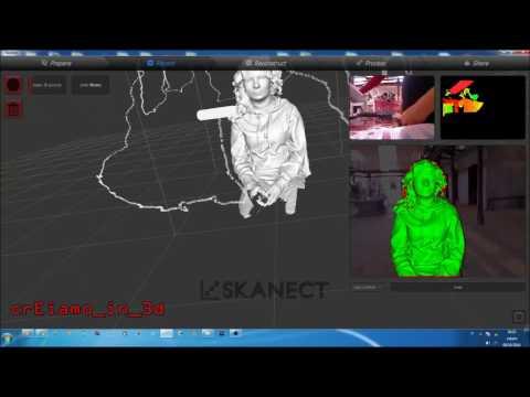 3d Scanning With Skanect Doovi