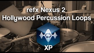 refxcom Nexus² - Hollywood Percussion Loops Fat Cat Drums Teaser