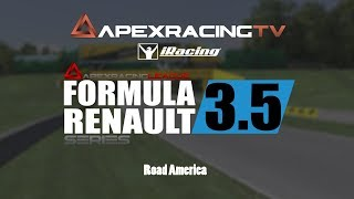 Apex Racing League - Formula Renault 3.5 Championship - Round 3 - Road America