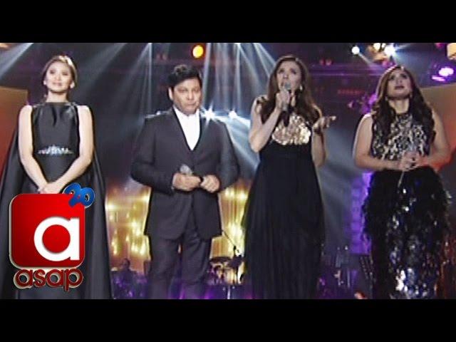 """ASAP: Sarah, Vina, Martin, Zsa Zsa sing """"Kung Kailangan Mo Ako"""""""