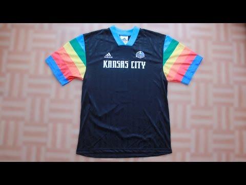 Kansas City Wizards 1997 1998 Sporting Kansas City football shirt
