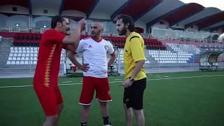 Hassan & Mohssin - Coupe Var mrabat & Ramos (Sketch) المغربي وإسبانيا   امرابط وراموس (سكيتش
