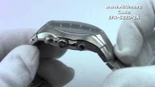 видео Casio edifice efr 532d 2a часы