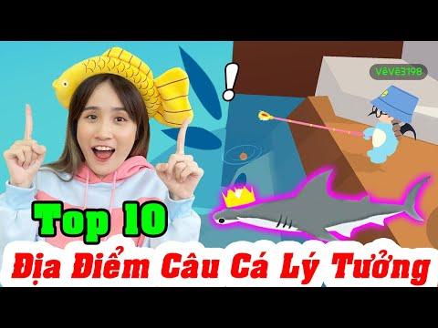 TOP 10 Địa Điểm Câu Cá Nhiều Và Nhanh Nhất Trong Play Together - Vê Vê Official
