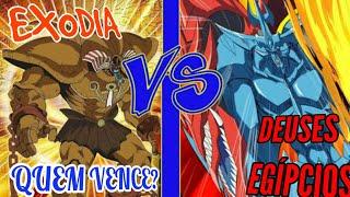 Yu-Gi-Oh! DEUSES EGÍPCIOS VS EXODIA PART 1