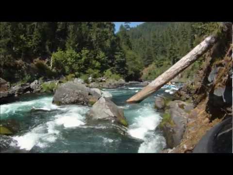 Inside Pin Ball Rapid Scenic North Umpqua River
