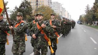 25 octombrie, Ziua Armatei Române la Bacău (defilarea Garzii de Onoare)